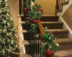 staircase garland etsy