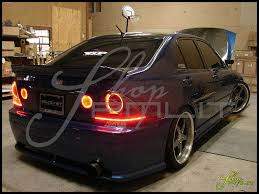 modified lexus is300 shoppmlit lexus is300 halo led lights automotive headlights 7 a