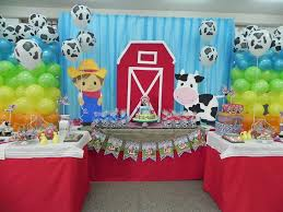 Farm Theme Baby Shower Decorations La Granja Birthday Party Ideas Birthday Party Ideas Birthdays