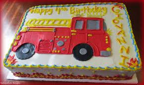 firetruck cakes 12 truck sheet cakes photo truck sheet cake truck