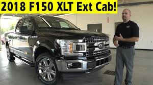 2018 ford f150 xlt supercab exterior u0026 interior walkaround youtube