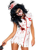 Bloody Nurse Halloween Costume Zombie Fancy Dress Costumes U0026 Halloween Fancy Dress Ball