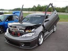 toyota corolla pimped decked out cars camry 2005 with vertical door and open