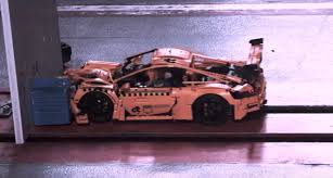 lego technic porsche 911 gt3 rs the beauty and horror of a lego porsche 911 gt3 rs crash test