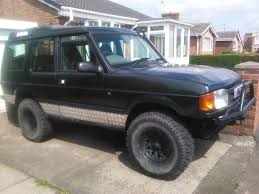 land rover discovery 1 300tdi 3 door 4x4 off roader green lane