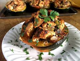 thanksgiving stuffed acorn squash adventures in vegan cooking