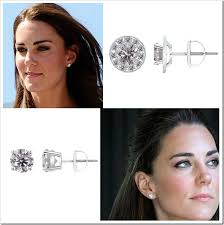 kate middleton diamond earrings their diamond studs kate middleton studs