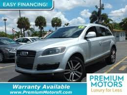 palm audi used audi q7 for sale in palm fl 56 used q7 listings