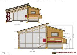Chicken Coop Floor Plan Home Garden Plans L104 Chicken Coop Plans Construction