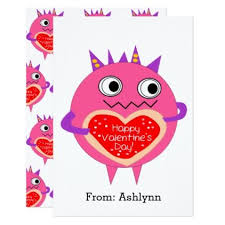 custom valentines day cards pink s day card kids valentines day gifts gift