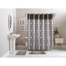 better homes and gardens 15 piece geometric bath set shower