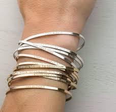 personalized cuff bracelet personalized cuff bracelet inspirational bracelet custom