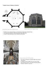 Gothic Architecture Floor Plan Salisbury Cathedral