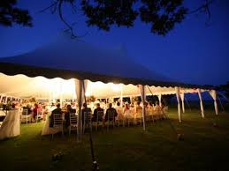 Canopy String Lights by Tent Styles Chase Canopy Company