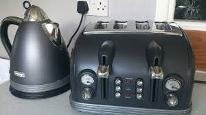 Kombi Toaster Used Delonghi Argento Kettle And Toaster In Wa7 Runcorn For