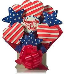 Cookie Bouquets 4th Of July Party Patriotic Cookie Bouquets
