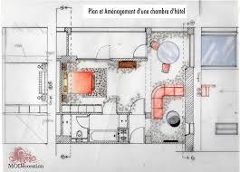 plan chambre d hotel perspectives esquisses réalisations décoration d intérieur avec