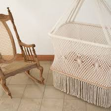 gorgeous hanging cradle in macrame with from hangahammock on