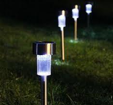 cheap led garden lights led solar lights solar lawn light plastic garden outdoor sun light