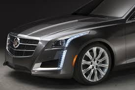 cadillac cts lights cadillac explains its aggressive headlight design autoevolution