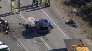 three dead after two car crash on indian ocean drive north of perth