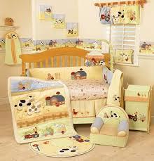 Farm Crib Bedding Moo Moo Baby Crib Set Gender Neutral Gender And Babies