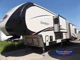 sandpiper travel trailer floor plans new 2018 forest river rv sandpiper 378fb fifth wheel at universal
