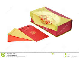 new year box new year packets and gift box stock photo image of