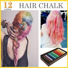 hair color rings images New 12 color hair chalk set soft crayons mungyo chalk pastels easy jpg