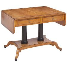 birch writing table from the estate of swedish architect alfred