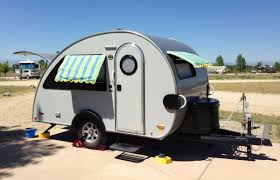 Teardrop Camper With Bathroom Tiny Trailers And Teardrops Appeal To A Simpler Time Lifestyle