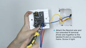 how to wire a nano switch to an outlet with a switch aeotec by