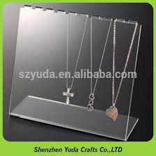 necklace display case images Clear acrylic headband display stand clear acrylic headband jpg