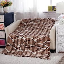 couverture pour canapé pas cher jeter couverture polaire couverture sur le lit doux hiver