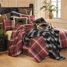 Rustic Bedding Sets Clearance Lodge Retreat Plaid Bed Set King Clearance Cottage Life