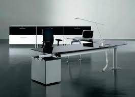 Black Office Desks Impressive Glass Office Desk L Shapes Glass Office Desk Black