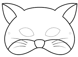 masque de chat à fabriquer