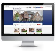 grant new homes case study home builder websites