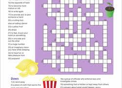 crossword worksheets u0026 free printables education com