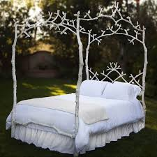 Iron Canopy Bed Enchanted Birch Queen Iron Canopy Bed And Luxury Kid Furnishings