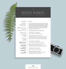 Cv Resume Template Microsoft Word Resume Template Summary Template Cover By Thecareerboutique Cv