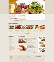cocktail recipes book website template 42620 tasty book cooking custom website template
