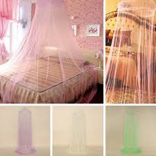 Lace Bed Canopy Dome Lace Mosquito Net Fly Indoor Insect Protection Bed Canopy