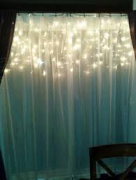 Christmas Lights Behind Sheer Curtain Icicle Lights G U0027s Room Pinterest Icicle Lights Lights And Room