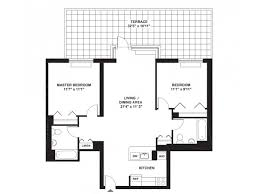 Two Bed Two Bath Floor Plans 2 Bed 2 Bath Apartment In New York Ny The Tapestry