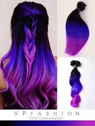 purple hair extensions mermaid purple remy clip in hair extensions inspired by toni