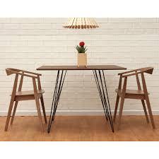 rectangular wood hairpin coffee table small rectangular wood dining table best gallery of tables furniture