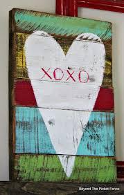 115 best valentine pallets images on pinterest heart pallet