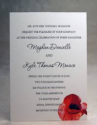 5x7 panel invitations with print and thick option