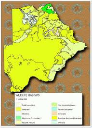 Botswana Map Maps